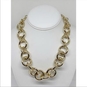 J. Crew Chunky Gold Link Necklace